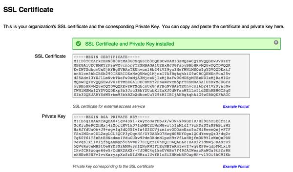 Convert binary key to pem